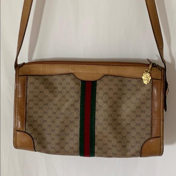 Gucci Handbags - Vintage Gucci 067 Monogram Shoulder Bag